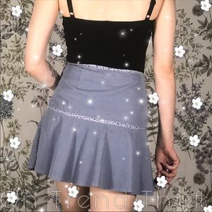 Dresses & Skirts - Cute Purple y2K Sexy M Costume Super Mini Skirt